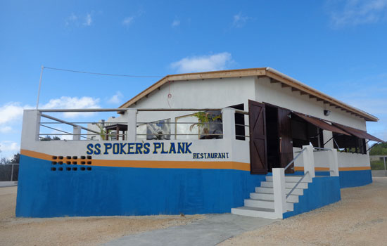 Anguilla food, Anguilla restaurants, Poker's Plank, pirate theme, kid-friendly, Anguilla lunch, Anguilla dinner