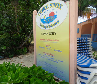 Anguilla restaurants, lunch, Shoal Bay