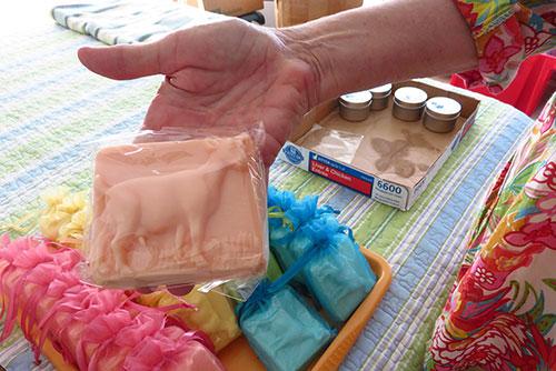 anguilla soaps, goat soap!