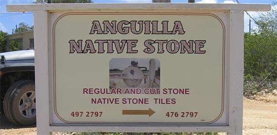Anguilla stone