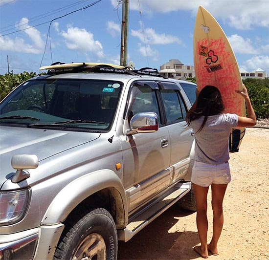 packing up our surfboards
