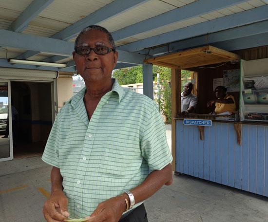Anguilla taxis, Benson Richardson
