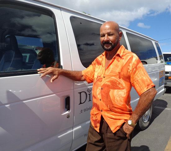 Anguilla taxis, Harry Harrigan