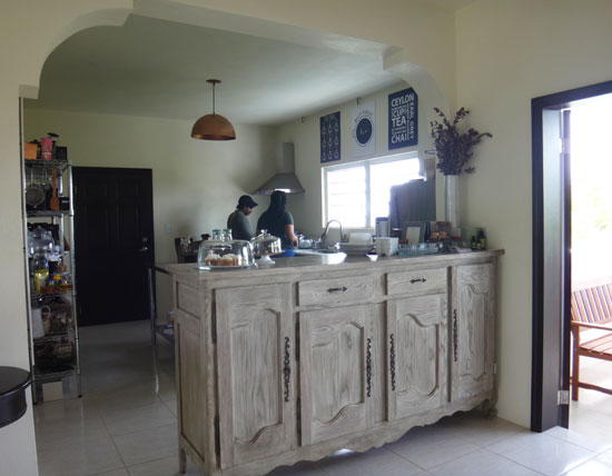 tea box lounge kitchen