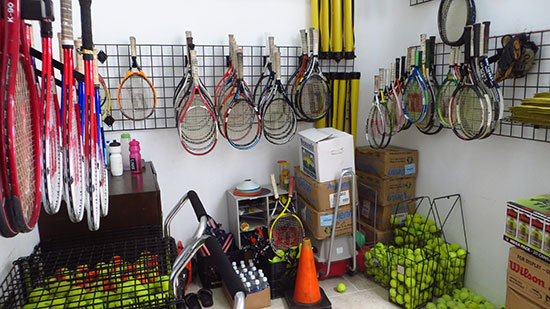storage room anguilla tennis academy