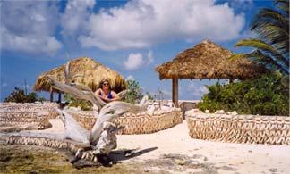 Scilly Cay beach