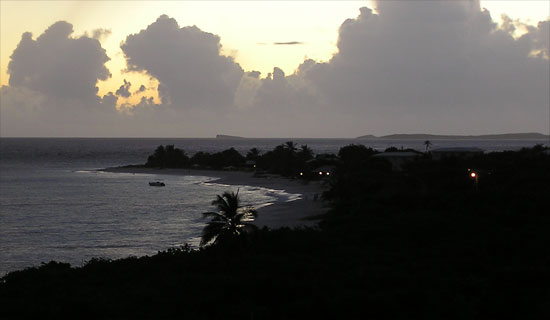 Anguilla sunrise
