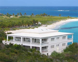 Anguilla Villa -- From Up Top