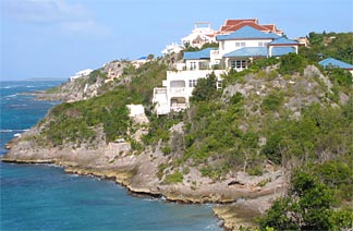 Anguilla Villa, view to East