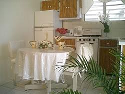 Anguilla villa kitchen