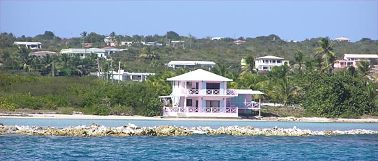 Boat House on Cortio Bay