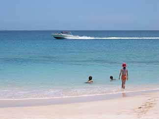 anguilla beaches motorboat