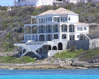 Michael Dell's Anguilla Mansion