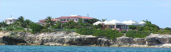 Anguilla villas by Round Rock Bay