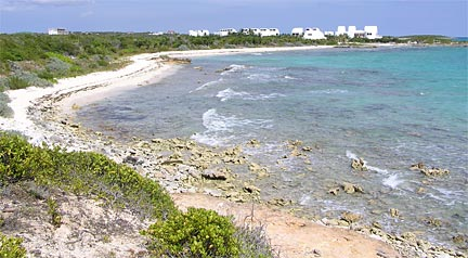 Sherricks Bay on Anguilla