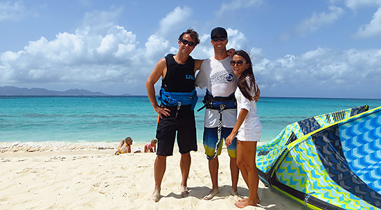 with judd burdon owner of anguilla watersports