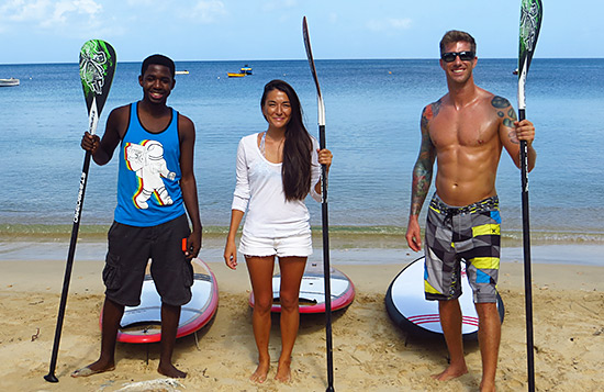 ready to paddle with anguilla watersports