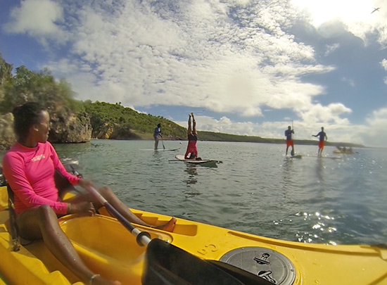 sup yoga in anguilla