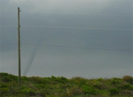 anguilla weather water spouts