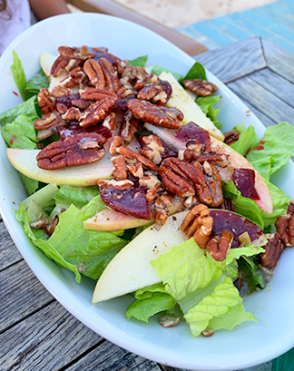 Beet & Apple Loaded Salad from waves