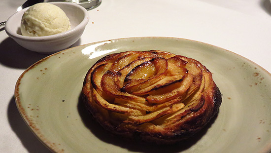 apple tart dessert from malliouhana