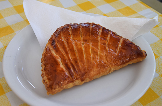 apple turnover at village bakehouse