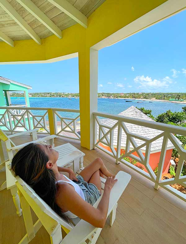 sunshine view at arawak beach club