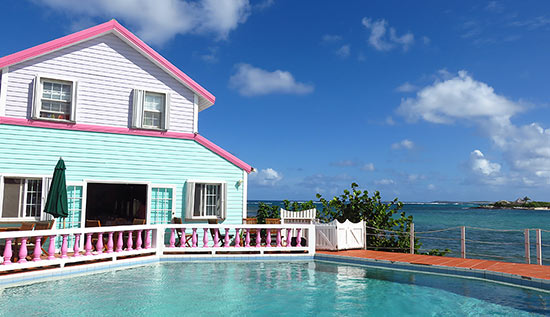 exterior view of arawak beach inn
