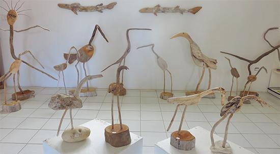 art exhibit at devonish art gallery