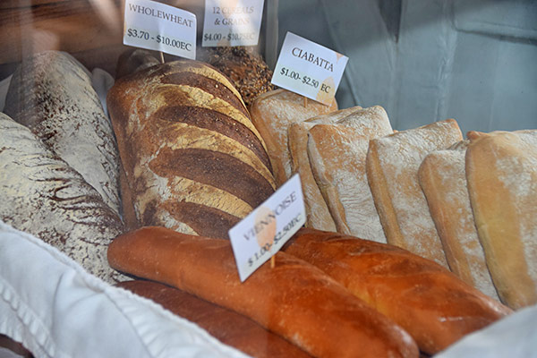 artisan breads from village bakehouse