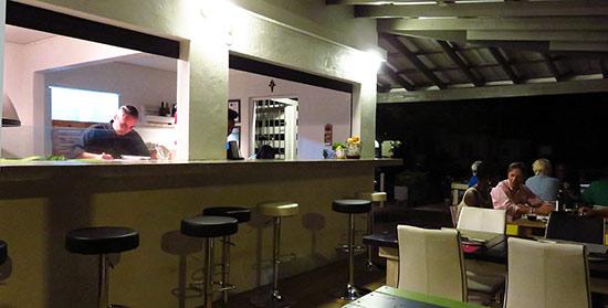 inside artisan restaurant
