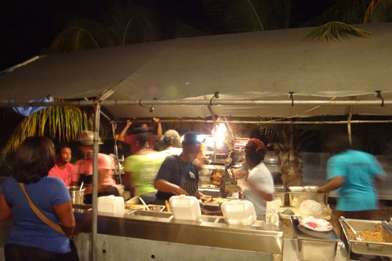 B&D BBQ tent in anguilla