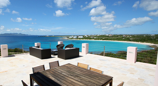 b on the sea anguilla villa rental