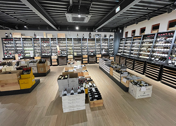 Huge Selection of French & International Wines at Bacchus