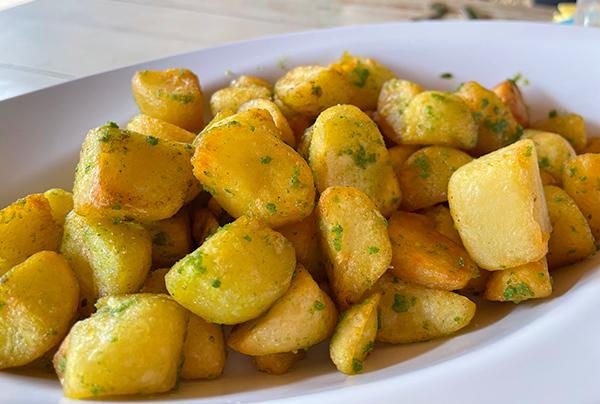 Potatoes at Yellow Beach
