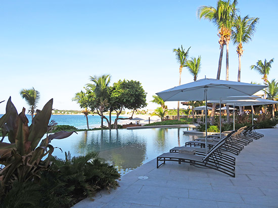bamboo bar and grill pool at four seasons anguilla