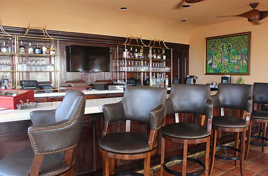the bar in malliouhana sunset bar