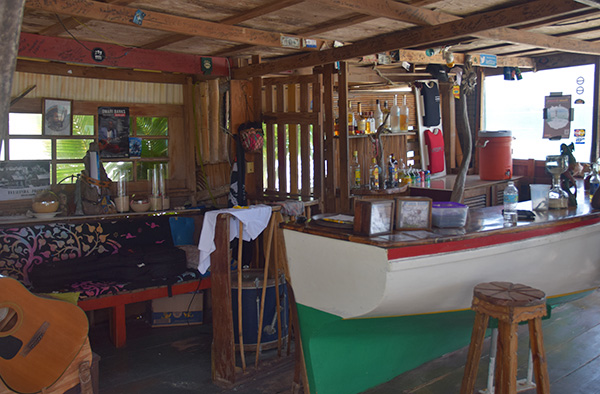 the bar at the dunes