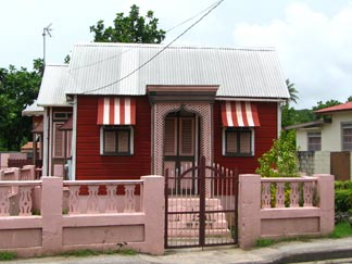Barbados chattel houses