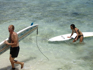 barbados surfing zed's
