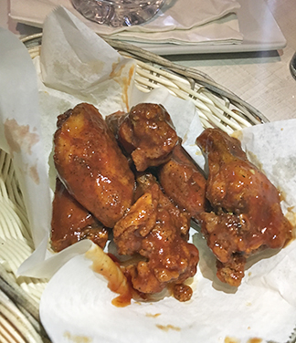 BBQ Wings at Ferry Boat Inn