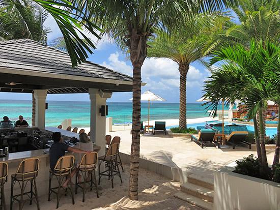 beach bar at shoal bay zemi beach club