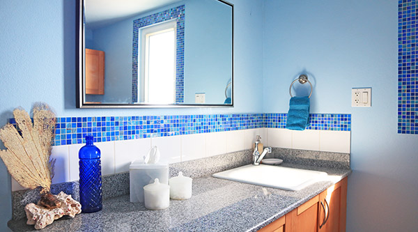 Beach Escape Villa bathroom in second house