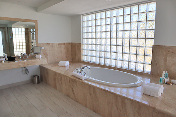 Master bathroom at CuisinArt Golf Resort & Spa