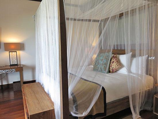master bedroom at zemi beach house beachfront