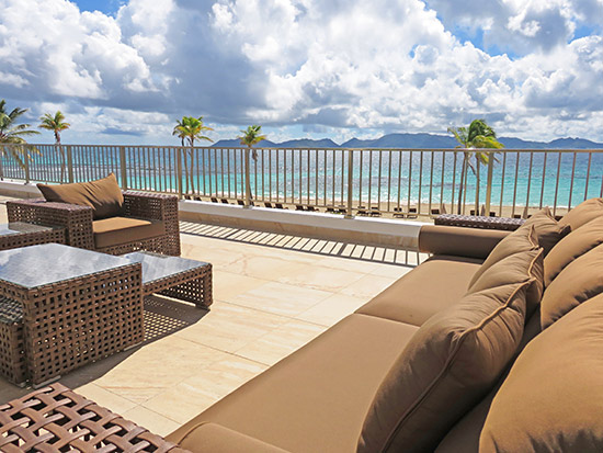 beachfront suite at the reef anguilla