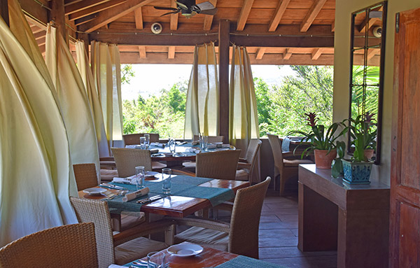 inside Veya restaurant during the day