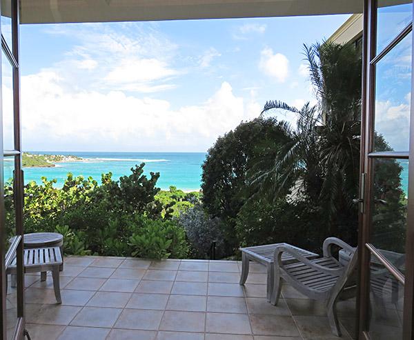 bird of paradise villa's third  bedroom view