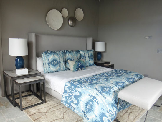 more of the bedroom inside solaire