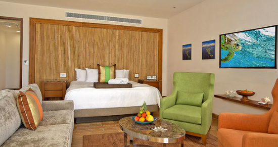 the rooms inside the reef hotel anguilla